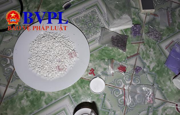 """Triệt xóa một """"xưởng"""" sản xuất ma túy lớn ở TP Ninh Bình"""